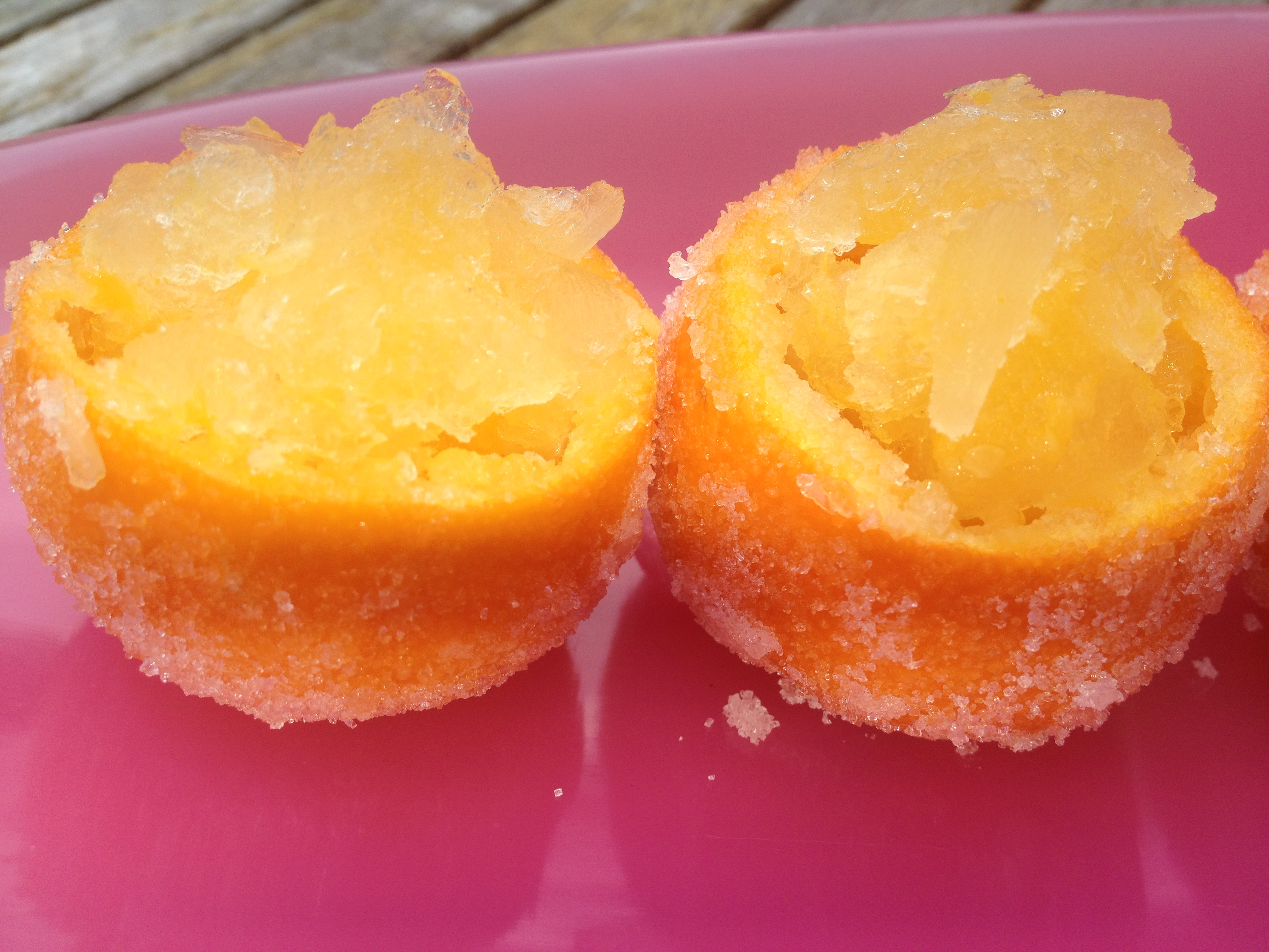 Clementine Granita Recipe; A Perfect Summer dessert - documama