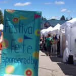 Art! Food! Merriment! At Festival Fete