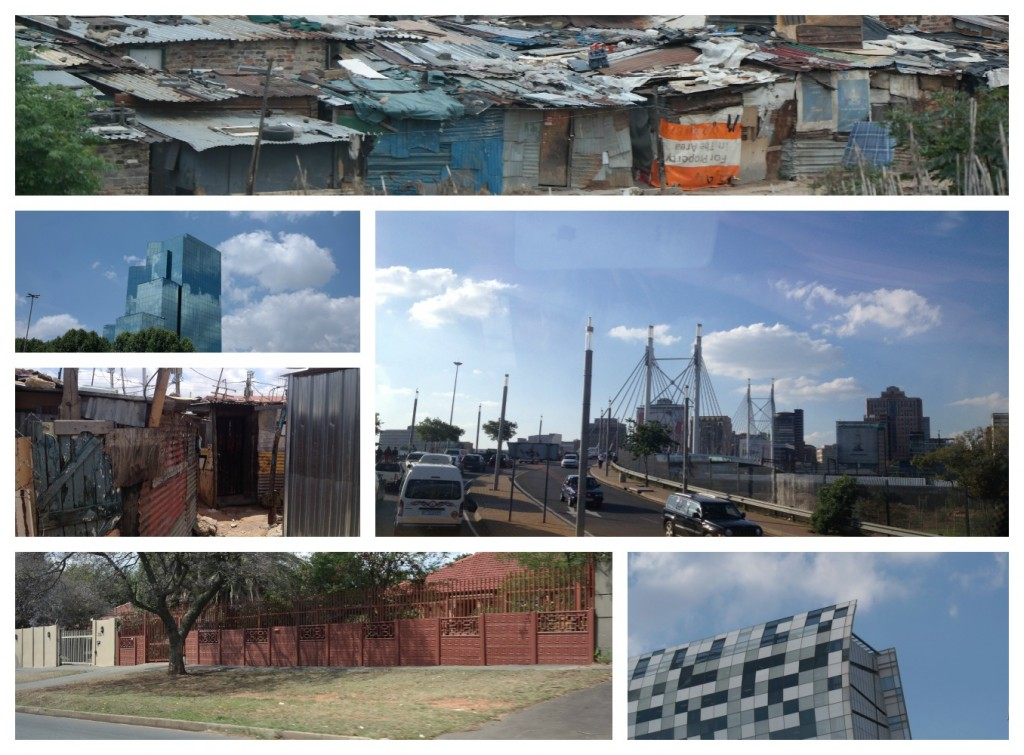 Johannesburg collage