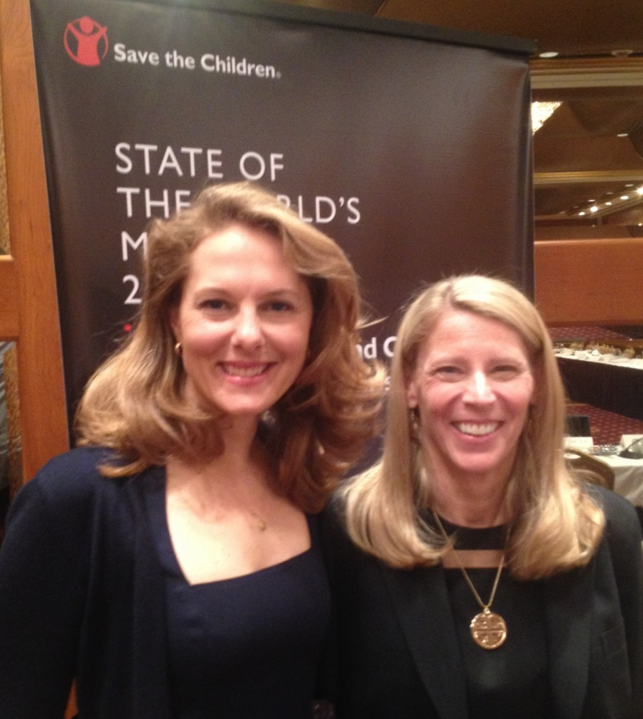HRH Princess Sarah Zeid of Jordan and Carolyn Miles, President and CEO of Save The Children