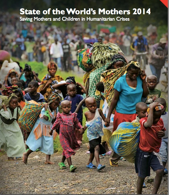 Cover photo of the Save The Children's State of the World's Mothers Report Photo by Phil Moore