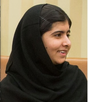 Malala Yousafzai, Wikipedia Commons