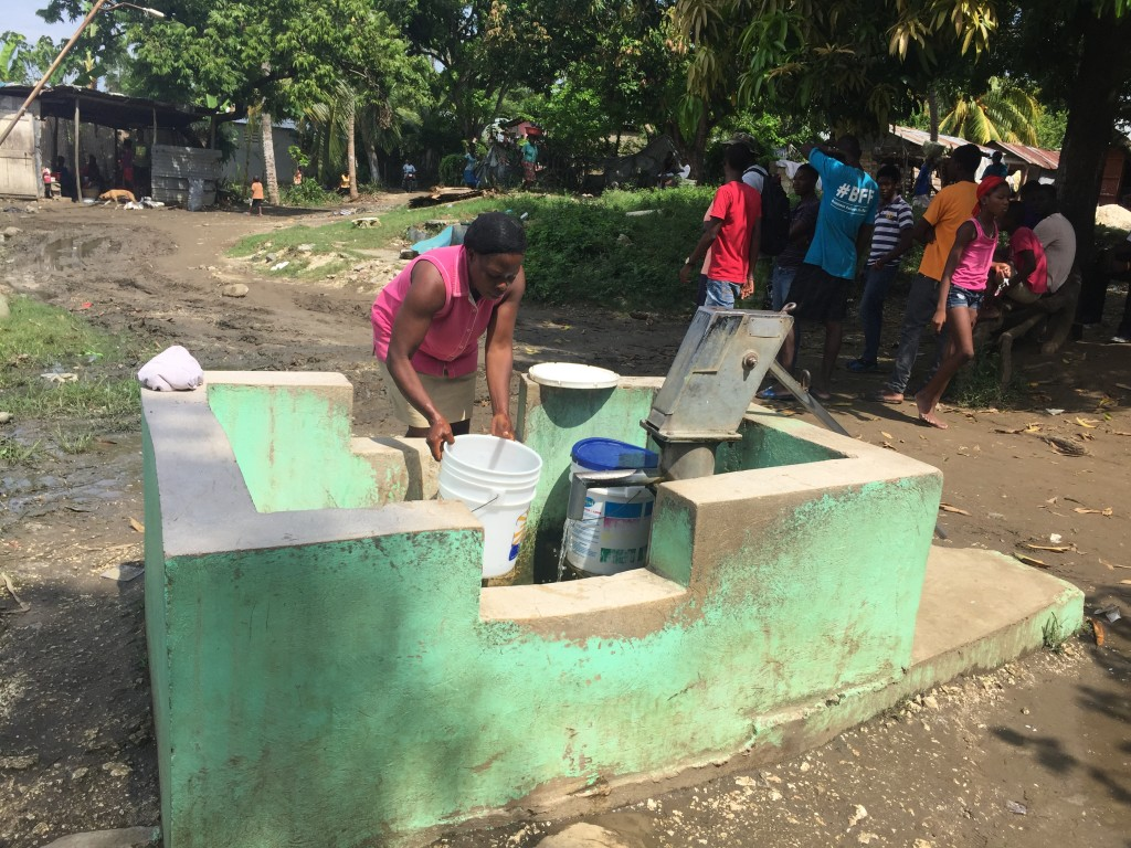 Clean Water / water pump in Haiti